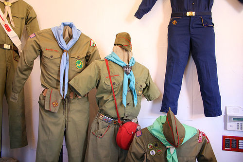 boy scout uniforms