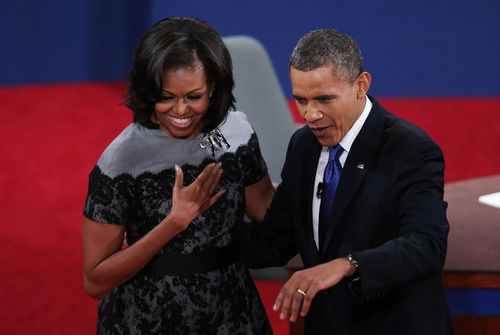 michelle obama final debate thom browne