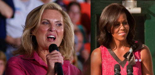 ann romney vs. michelle obama