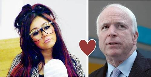 Snooki & John McCain are friends