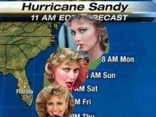 hurricane sandy meme