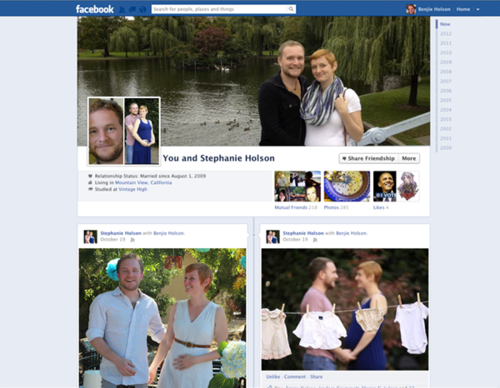Facebook relationship pages