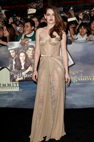 kristen stewart in zuhair murad dress breaking dawn: part 2 premiere