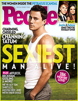 Channing Tatum 'People' Sexiest Man Alive