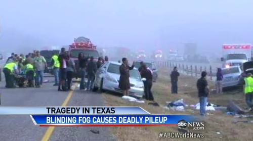 texas pile-up