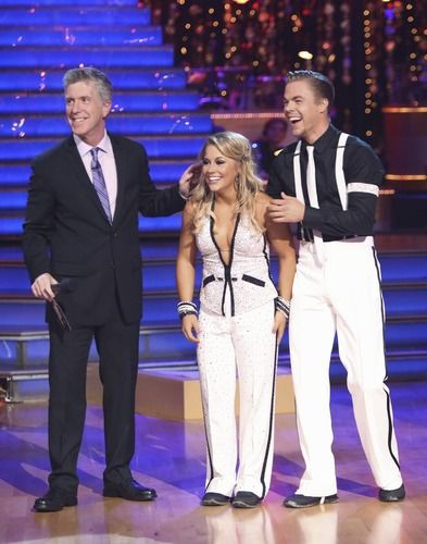 Shawn Johnson Derek Hough