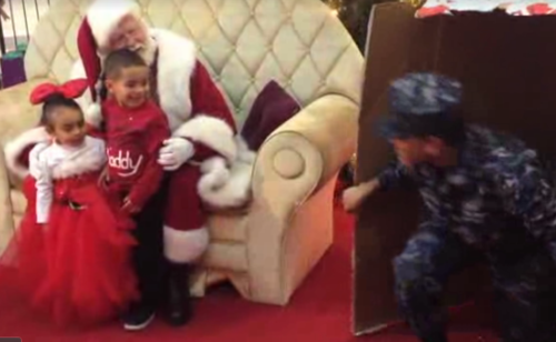 solider Christmas Surprise