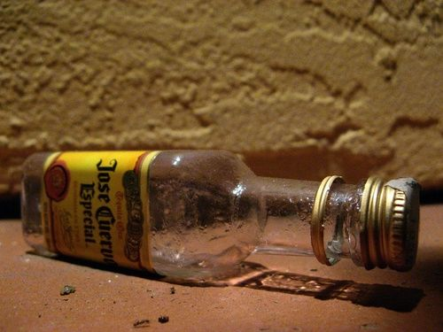tequila bottle