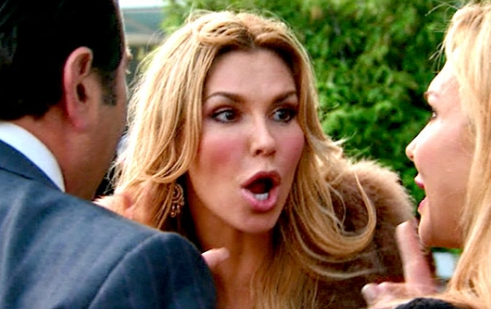 Brandi Glanville and Adrienne Maloof