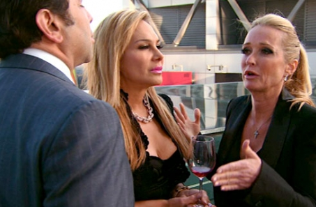 Adrienne Maloof and Kim Richards