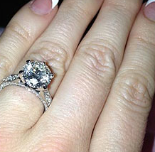 crystal harris engagement ring