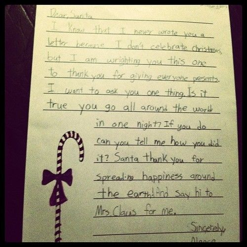 letter to santa