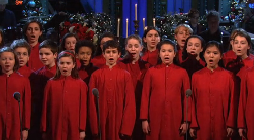 snl silent night