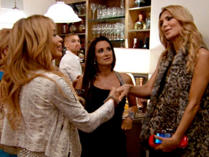 Faye Resnick and Brandi Glanville