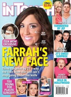 Farrah Abraham plastic surgery