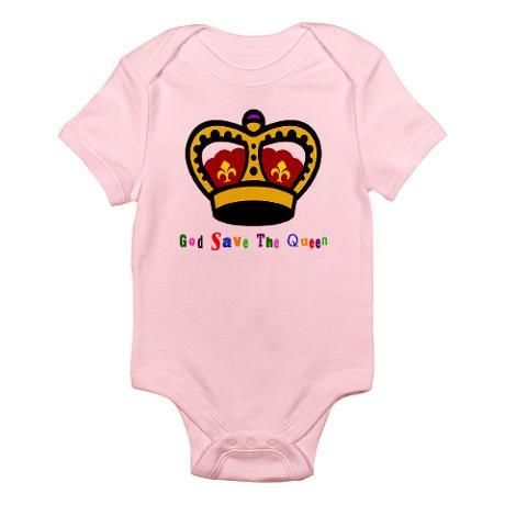 God Save the Queen onesie
