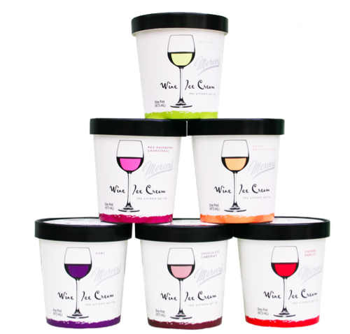wine ice cream