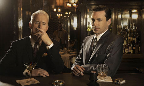 don draper roger sterling drinking