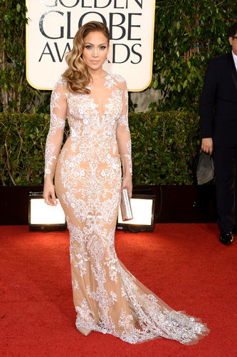 jennifer lopez naked dress golden globes