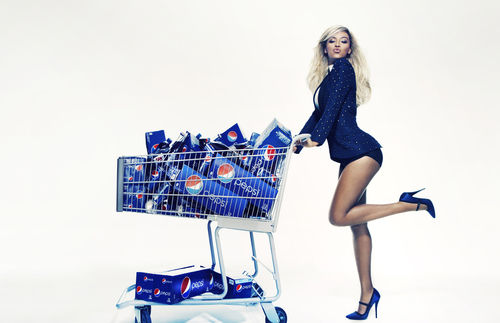 Beyonce's Pepsi ad