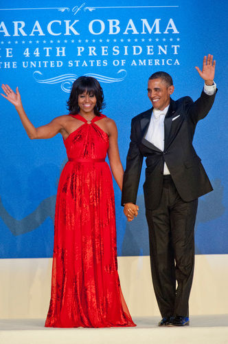 michelle obama barack obama inaugural ball 2013