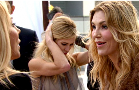 Adrienne Maloof and Brandi Glanville