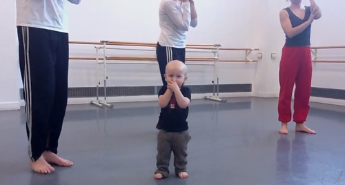 baby interpretive dance