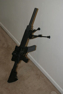 semi automatic rifle