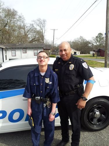 autism kid cop Blaize Richards