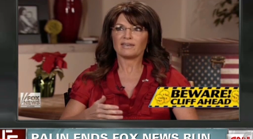 Sarah Palin dumped from Fox