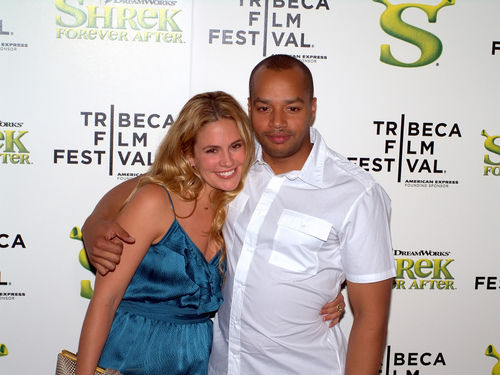 Cacee Cobb and Donald Faison