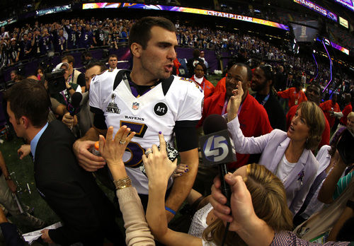 Joe Flacco Super Bowl MVP