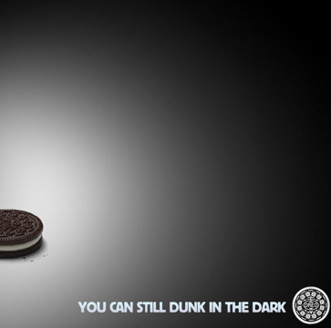 Oreo Dunk in the Dark