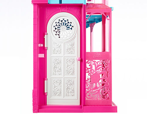 barbie dream home elevator