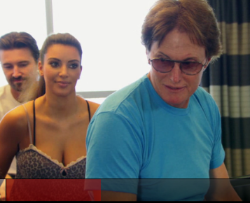 Kim Kardashian and Bruce Jenner