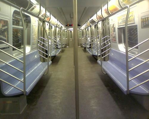 subway car empty