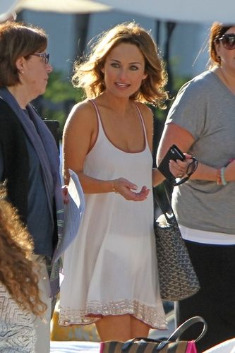 Giada De Laurentiis' Sexy Sheer Dress Leaves Nothing to the