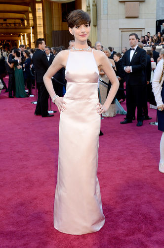anne hathaway oscars 2013