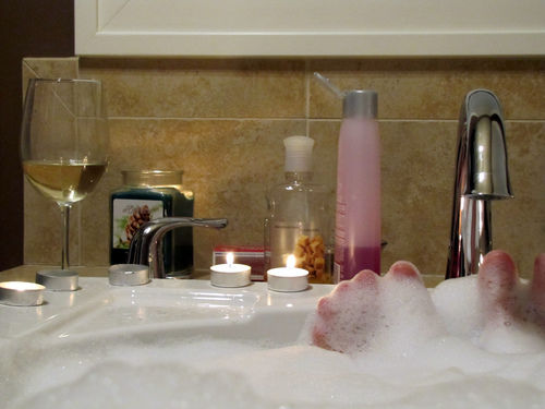 bubble bath