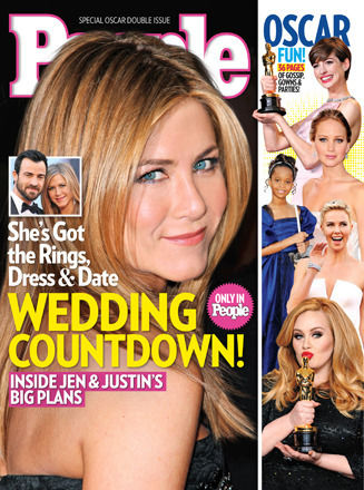 jennifer aniston wedding planning