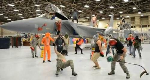 Harlem Shake military