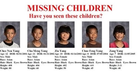 7 missing children Fresno