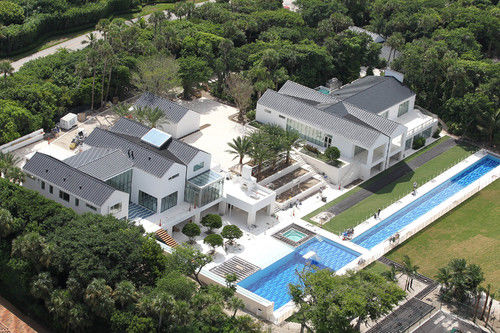 Tiger Woods Home 