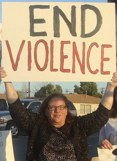end violence sign rape