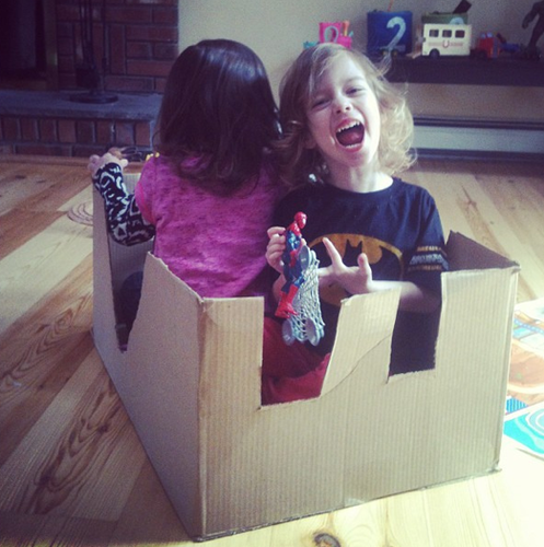 twins in a box