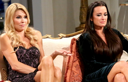 Brandi Glanville and Kyle Richards