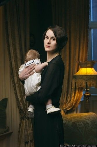 lady mary baby downton abbey 4