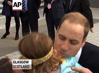 prince william refused kiss