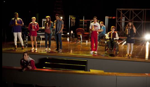 glee school shooting
