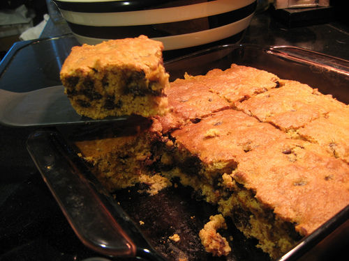 thick chocolate chip cookie bars